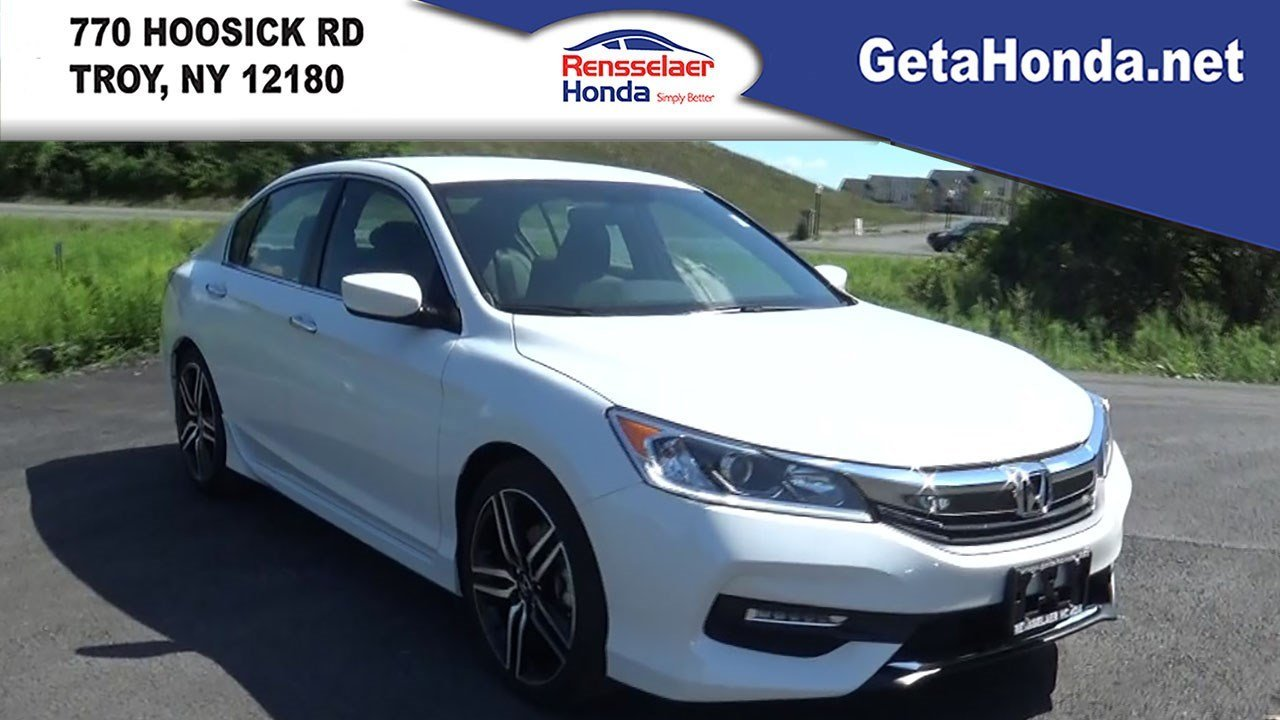 new 2017 honda accord sedan sport se 4dr car near albany 170140 rensselaer honda. Black Bedroom Furniture Sets. Home Design Ideas