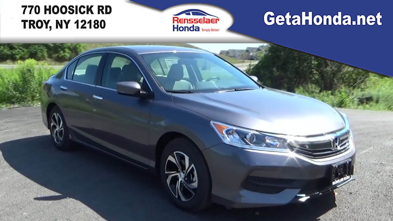 2017 Honda Accord Lease Price Of New 2017 Honda Accord Sedan Lx 4dr Car Near Albany 170849