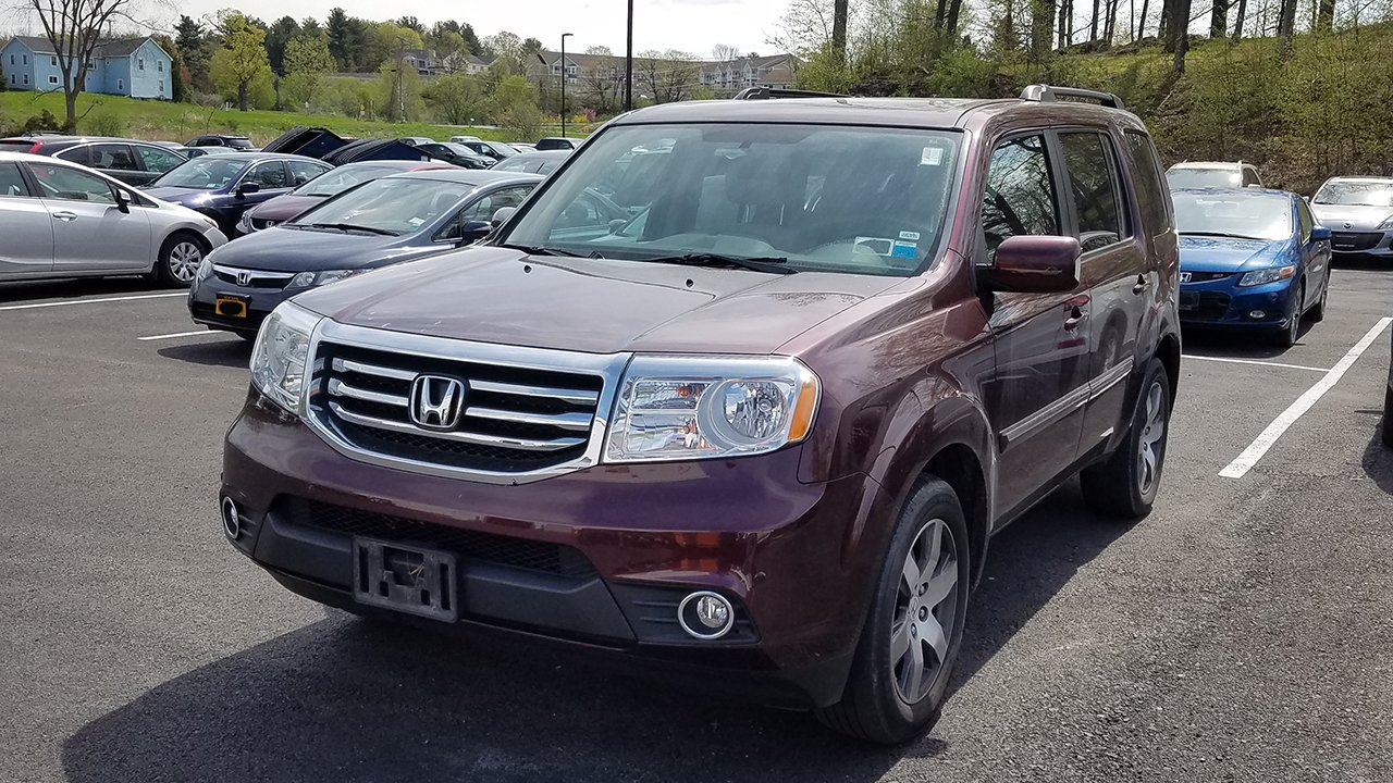 Certified pre owned 2014 honda pilot touring sport utility for Certified pre owned honda pilot 2016